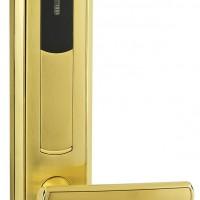 酒店专用锌合金电子门锁 工厂低价销售IC卡电子门锁 深圳厂家