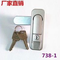 供应奇固KEYCOMS738电柜门锁机箱机柜锁